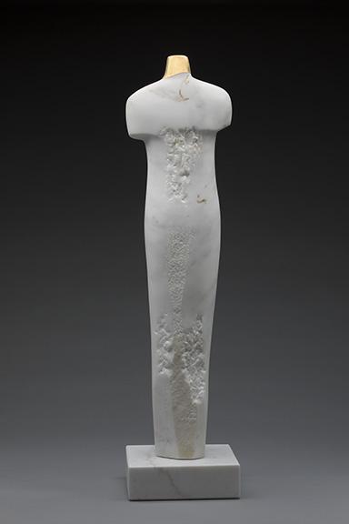 female marble torso