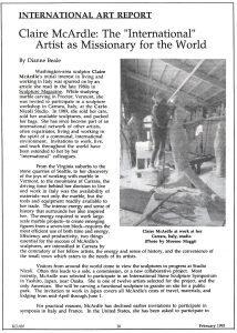 KOAN:  International Art Report