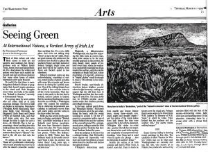 Washington Post: Seeing Green at International Visions, a Verdant Array of Irish Art